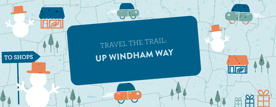 travel up to windham holiday shopping