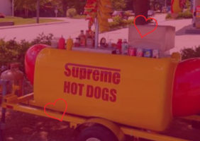 supreme hot dogs